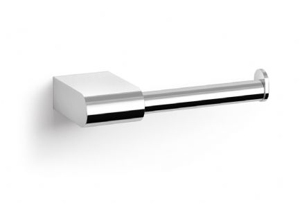 Zack Atore Polished Stainless Steel Toilet Roll Holder